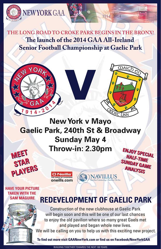 New York v Mayo 4th May 2014
