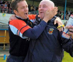 Pat and Noel, new Mayo GAA managers 2014