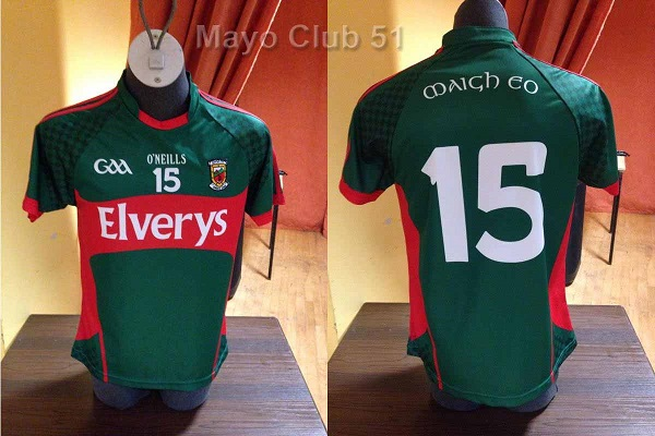 New Mayo Jersey For 2015 Announced