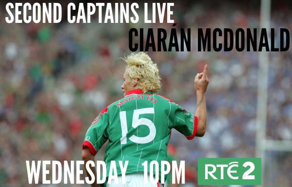 Ciaran McDonald appears on Second Captains Live