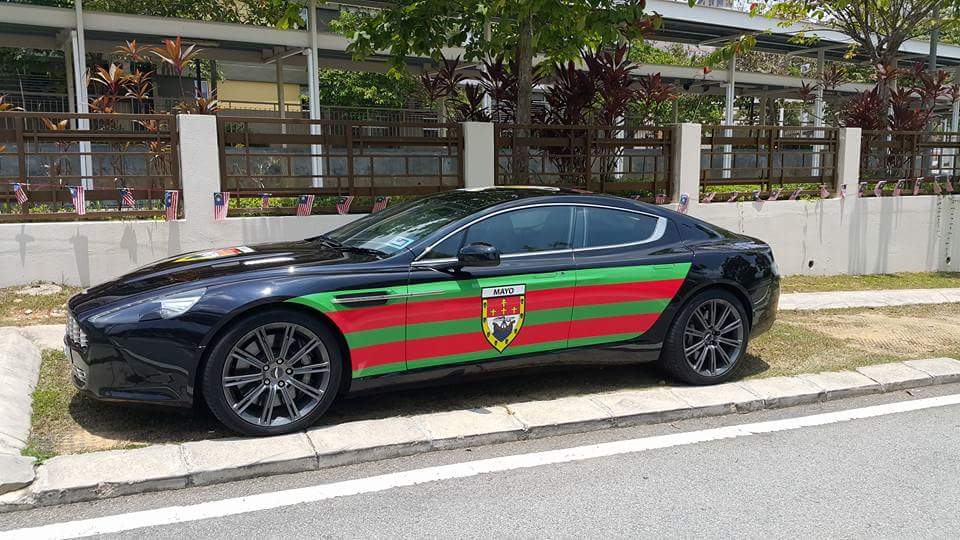 The Malaysian Mayo Car