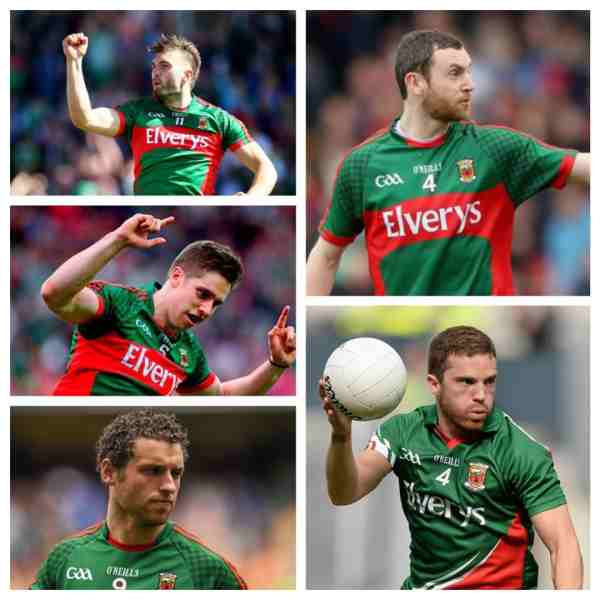2015 GAA All star nominees-mayo