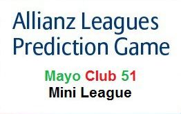 2018 Allianz Prediction Mini League