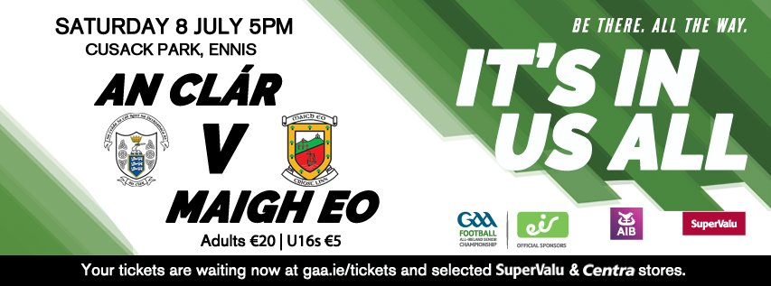 Clare v Mayo Rd 3 Qualifier