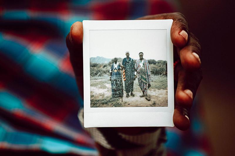 Oloopiro guerrier Maasai