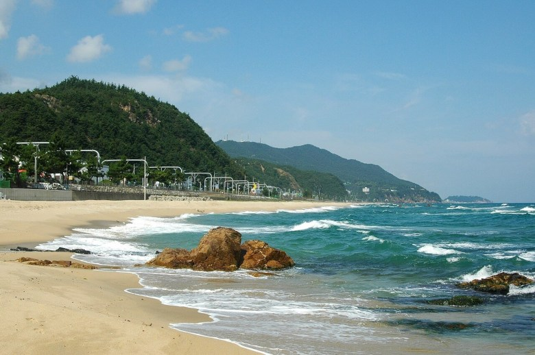 Jeongdongjin Beach A Large size Beach