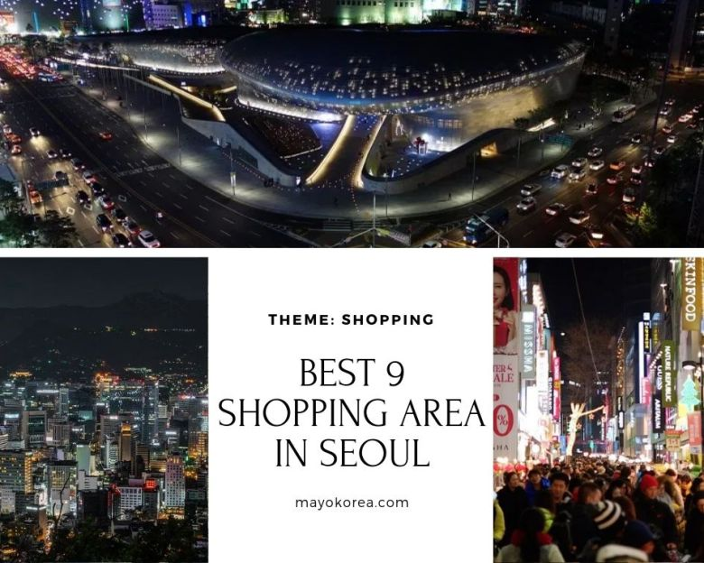 Best 9 Shopping Area in Seoul