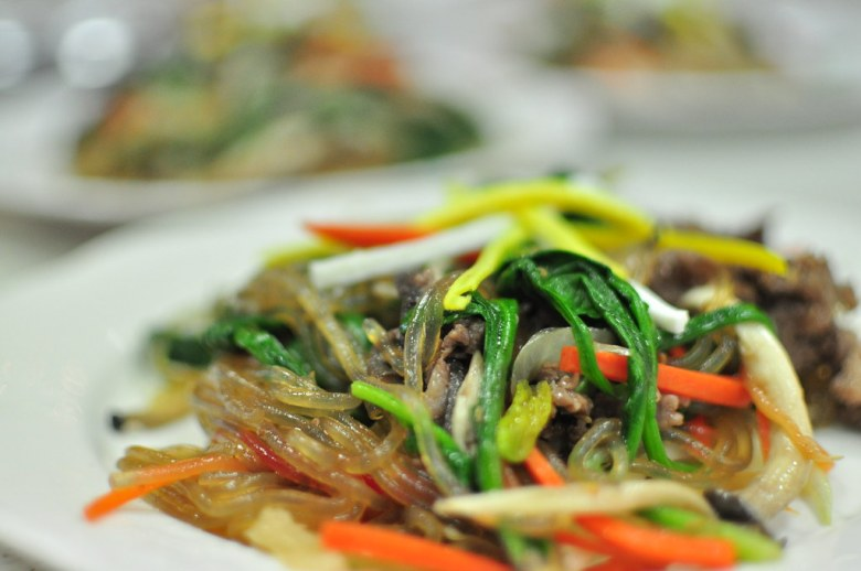 Traditional Markets in Korea jjapchae