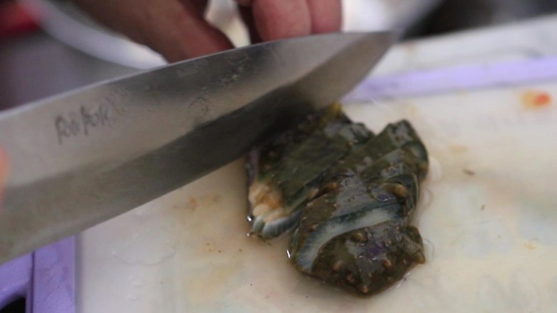 Cutting Sea Cucumber