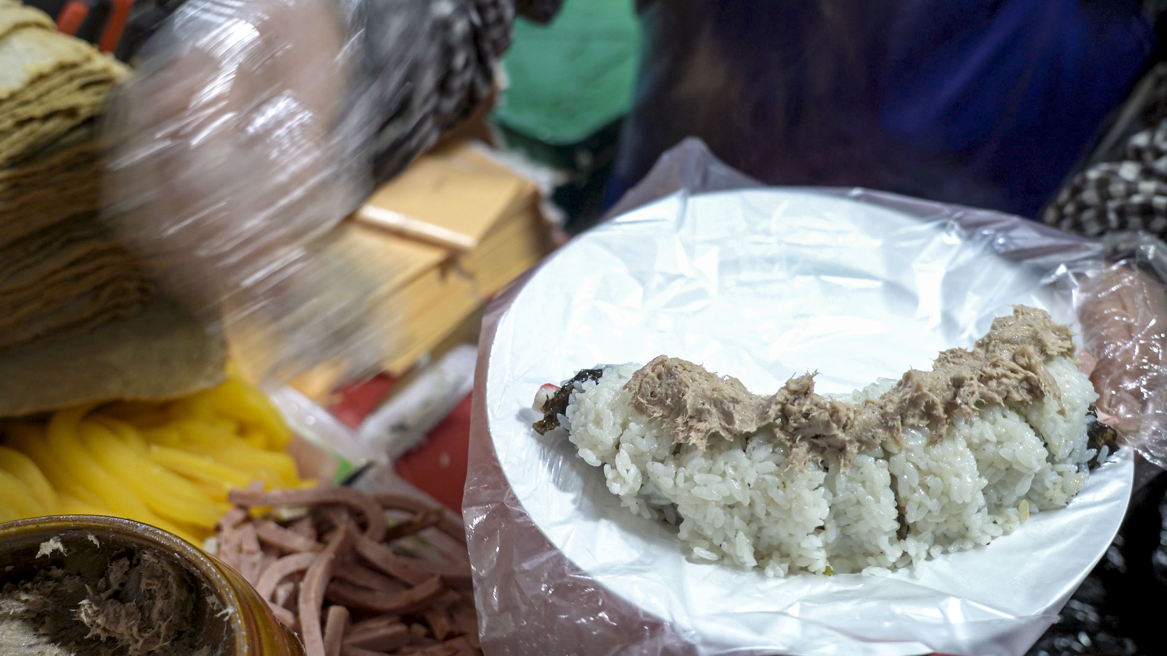 Cheese Tuna Nude Gimbap