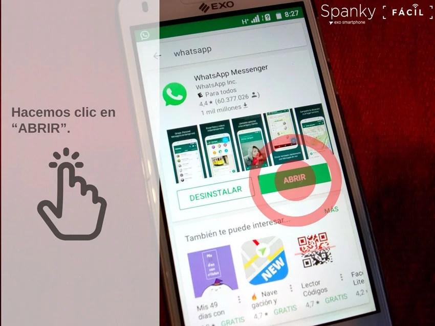 como instalar whatsappcelular, uso de WhatsApp