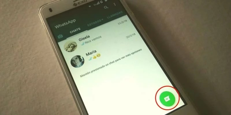 como crear chat grupal whatsapp