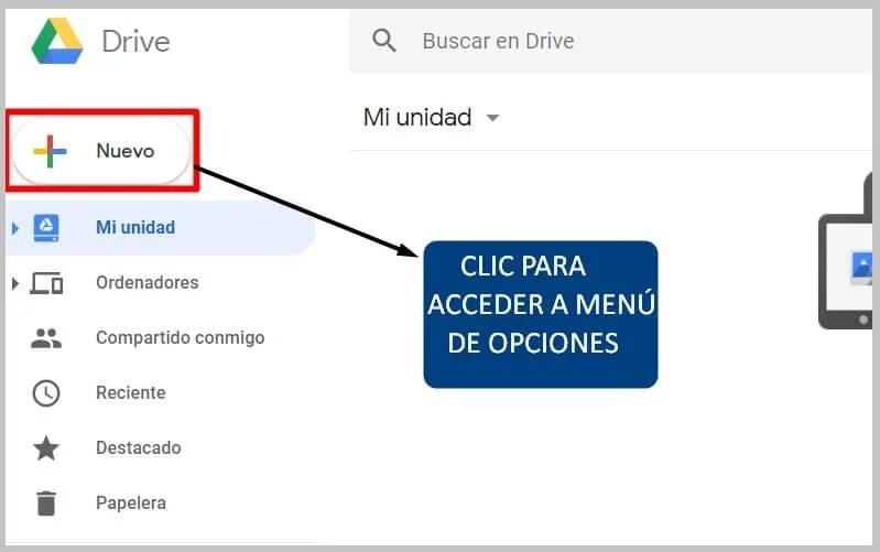 cómo usar google drive