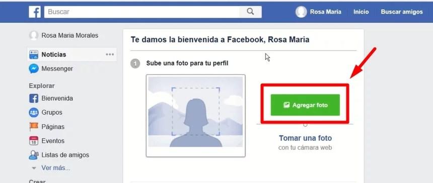 como configurar tu cuenta de facebook