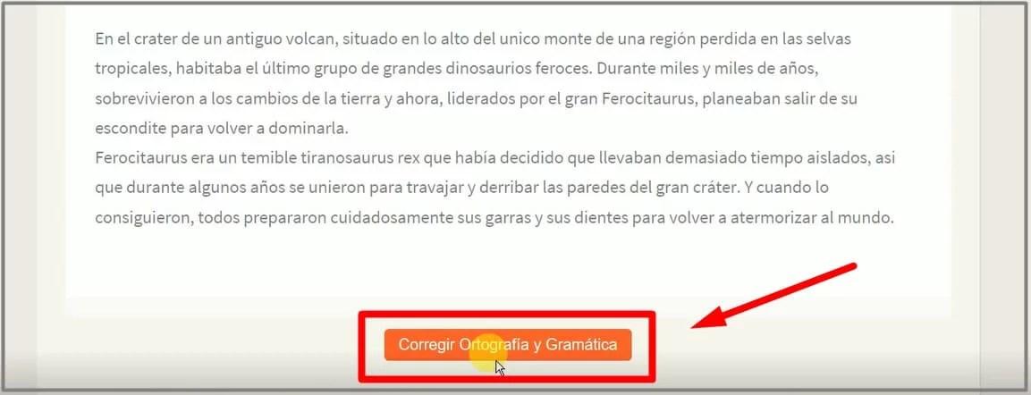 herramienta para corregir ortografía online