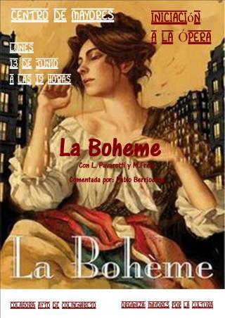 Cartel La Boheme (320x200)