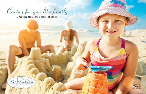 Summer Postcard Design