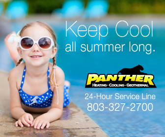 Panther Heating and Cooling Banner ad designed by The Mayoros Agency in Fort Mill, SC