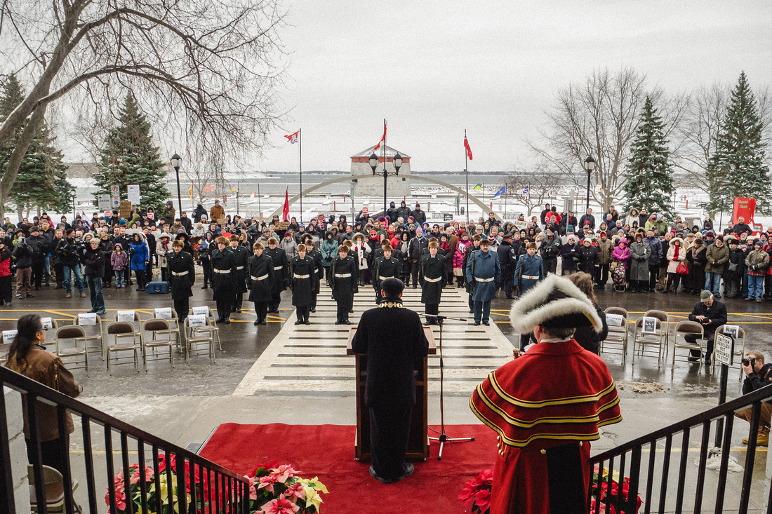 Welcoming the community to the commemoration of Sir John A. Macdonald on his 200th birthday - Jan. 11