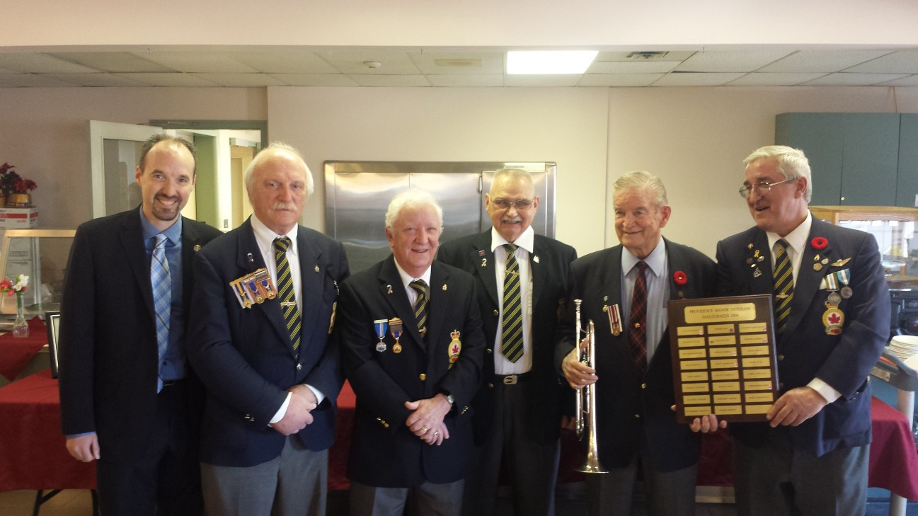 Well deserved recognition for outstanding civic service, Robert Murray played the 'Last Post' at civic Remembrance Day ceremonies for several decades - March 18