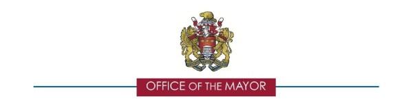 mayor's letterhead - header