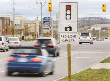 Red light camera - York Region