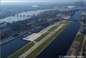 Campaigners have lost a bid to halt expansion at City airport. Photo: London City Airport