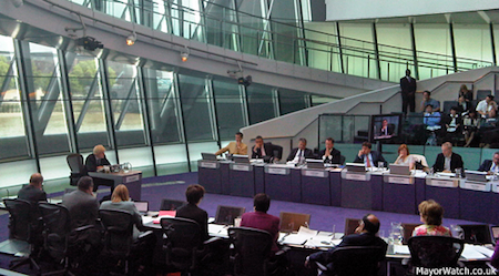 The London Assembly holds the Mayor to account and investigates issues of concern to Londoners. Photo: MayorWatch