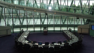 The London Assembly will question the Mayor on Wednesday.  Image: MayorWatch