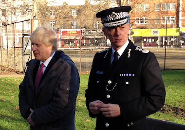 Mayor Boris Johnson has defended planned police and fire reforms.  Image: MayorWatch