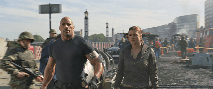 London doubles as Moscow in & Furious 6. Image: Universal Pictures