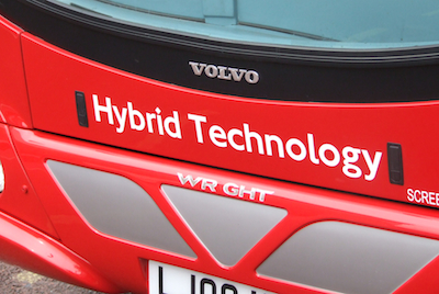 The grant will pay for 90 new Hybrid buses and 4 electric vehicles for trials. Image: MayorWatch