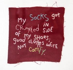 Muth_Crumpled Socks