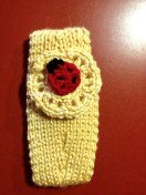 Ear warmer for February - when you can almost feel March!