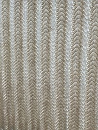 Guest bed throw, 3 row shell pattern