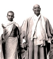Krishnananda and Sivananda 1945