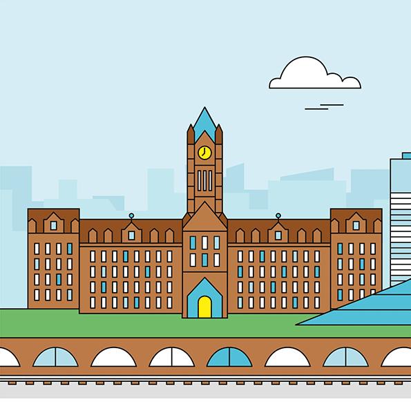 Manchester Illustration 3