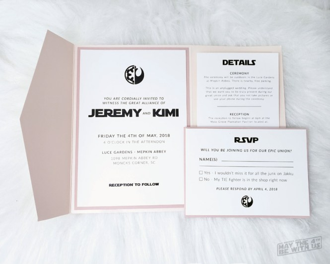 The Best Star Wars Wedding Details You Ll Want For Your