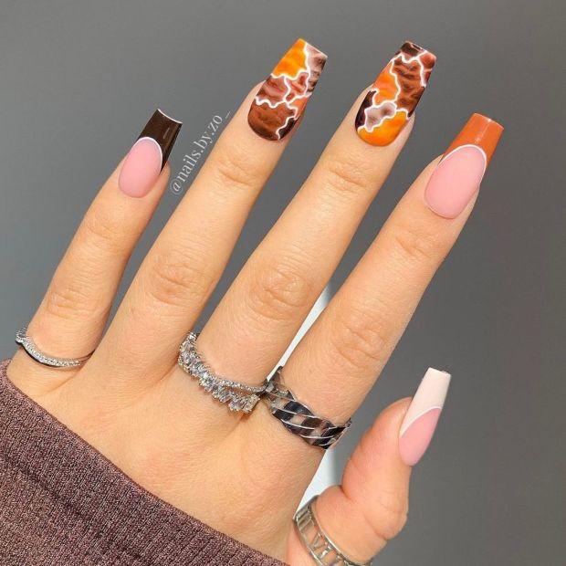 GOLDEN HOUR INSPIRED summer nail designs for 2021