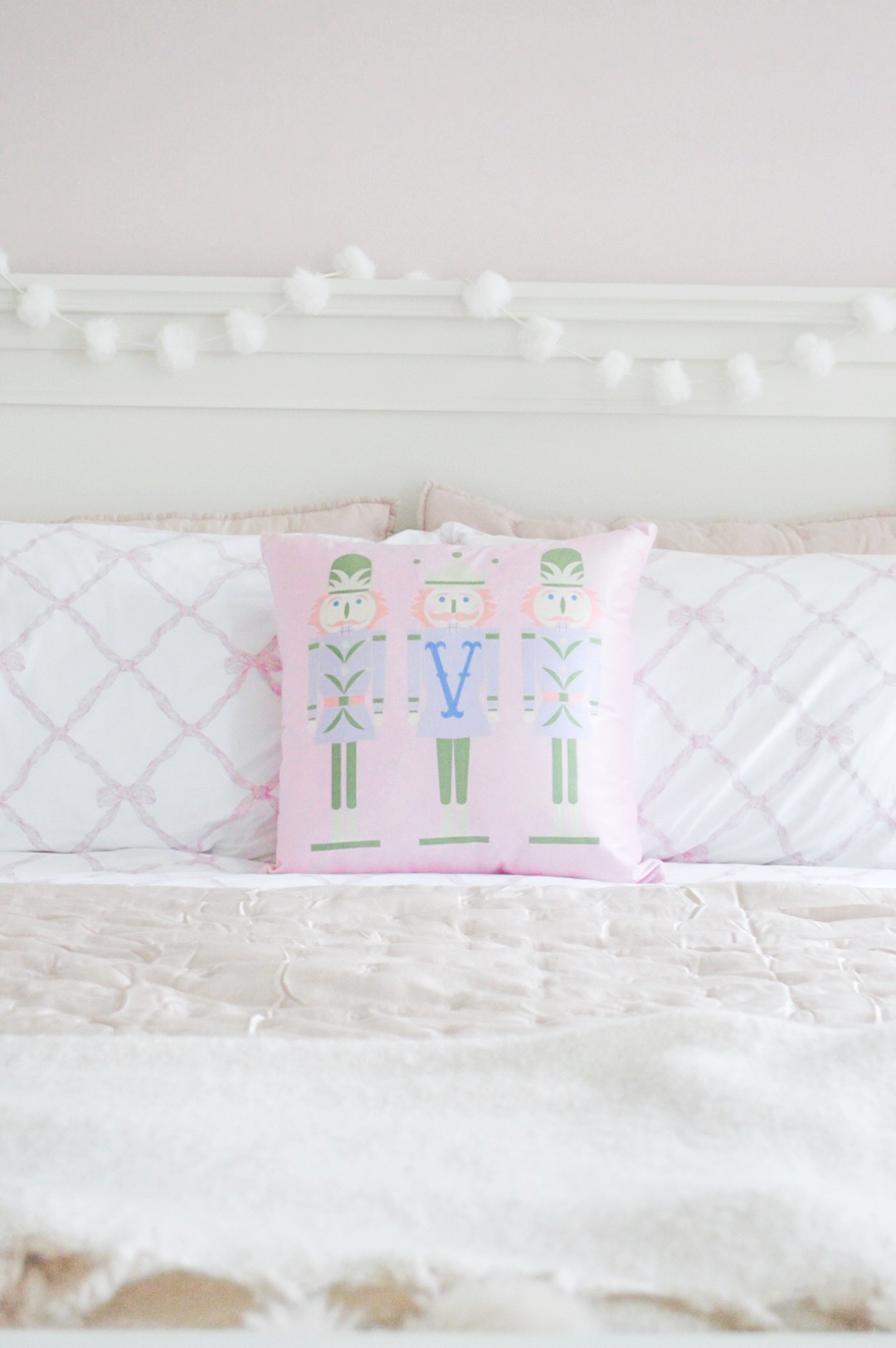 june st. george pink pillow