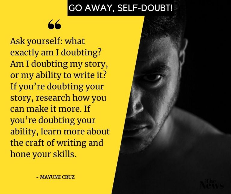 how to banish self doubt