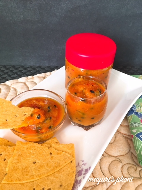 passion fruit hot sauce 1