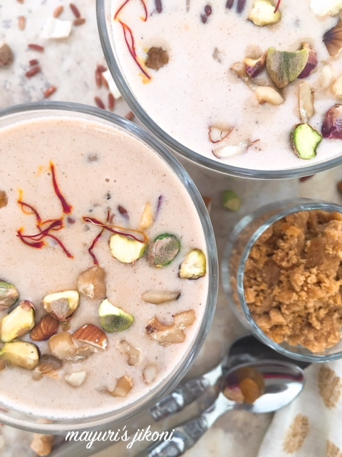 red rice kheer 4