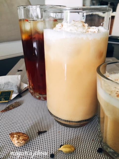 iced chai saffron frappe 2