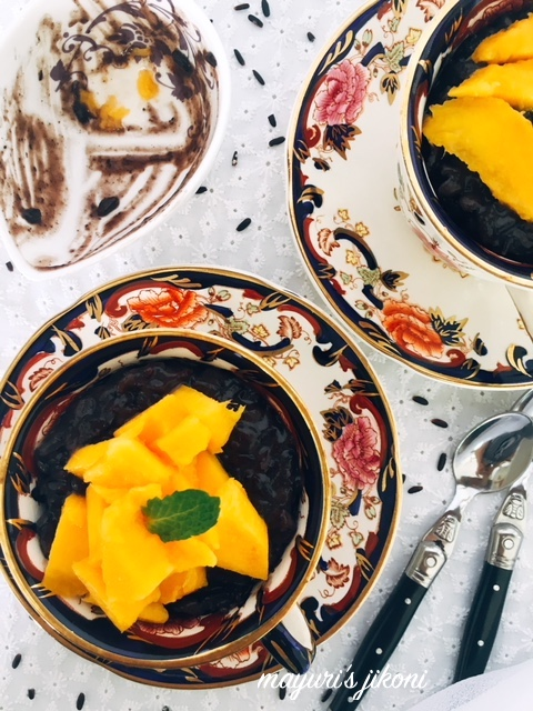Black Rice Pudding 5