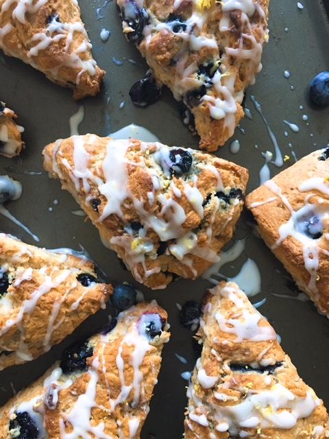 blueberry buttermilk scones 2