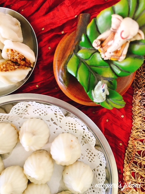Steamed Modak 3