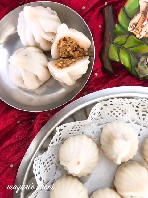 Steamed Modak 4