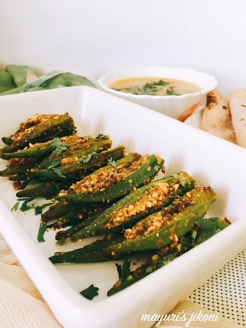 stuffed bhindi 4