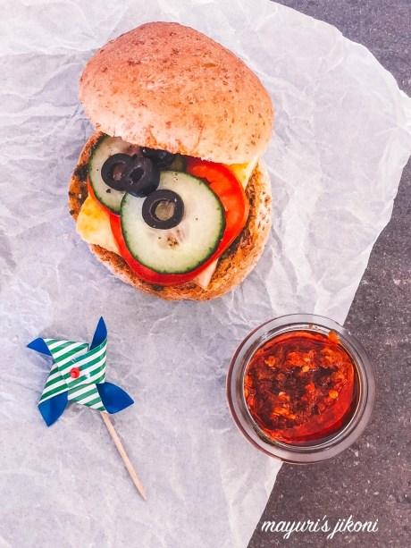 paneer chutney sandwich 4